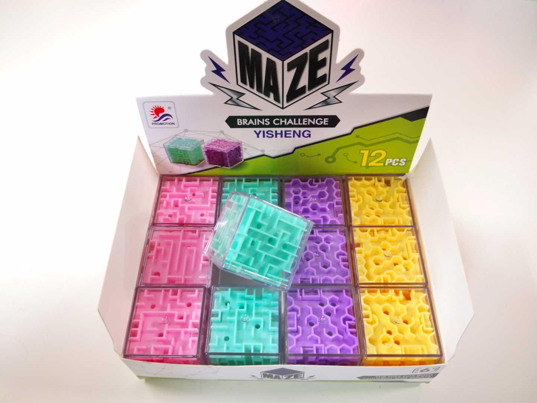 Maze Cube 3.5cm